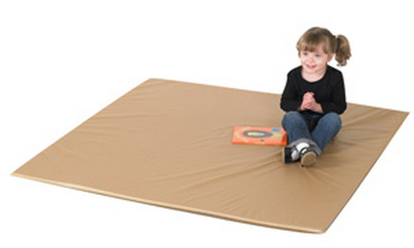 Children's Factory Two Tone Activity Mat - Walnut/Almond