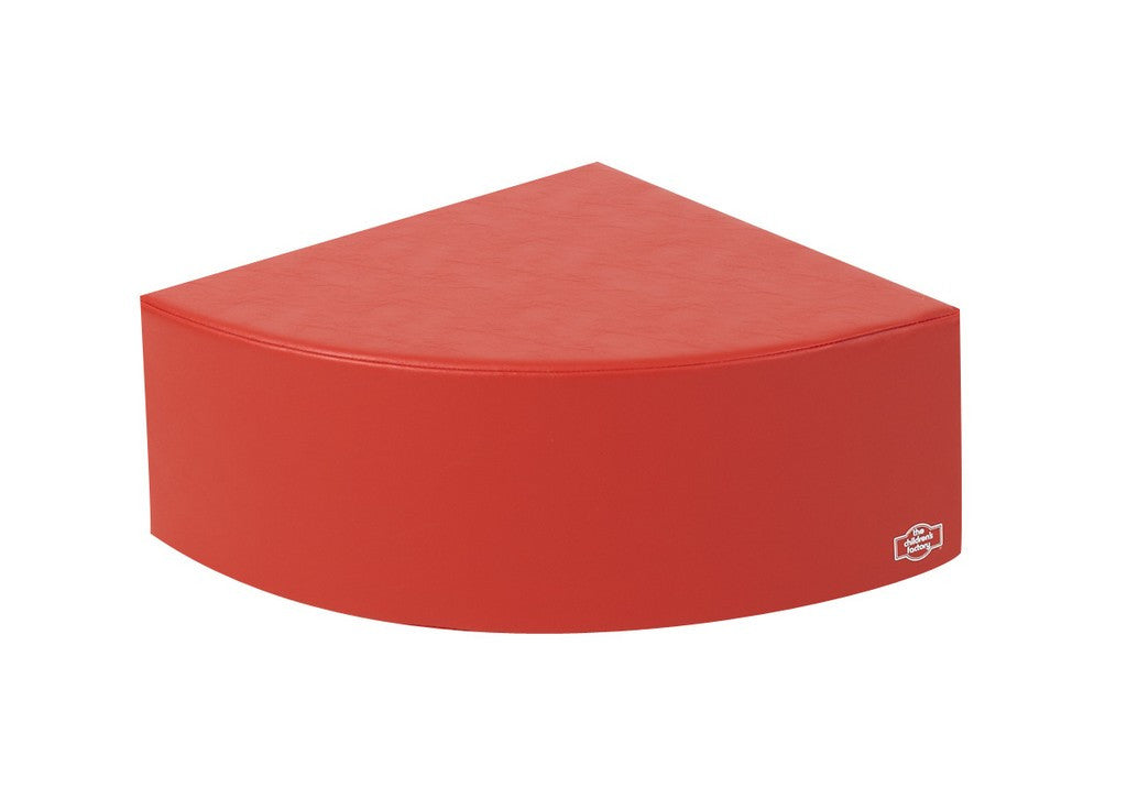Children's Factory Bigger Age 1/4 Circle - Red CF705-534