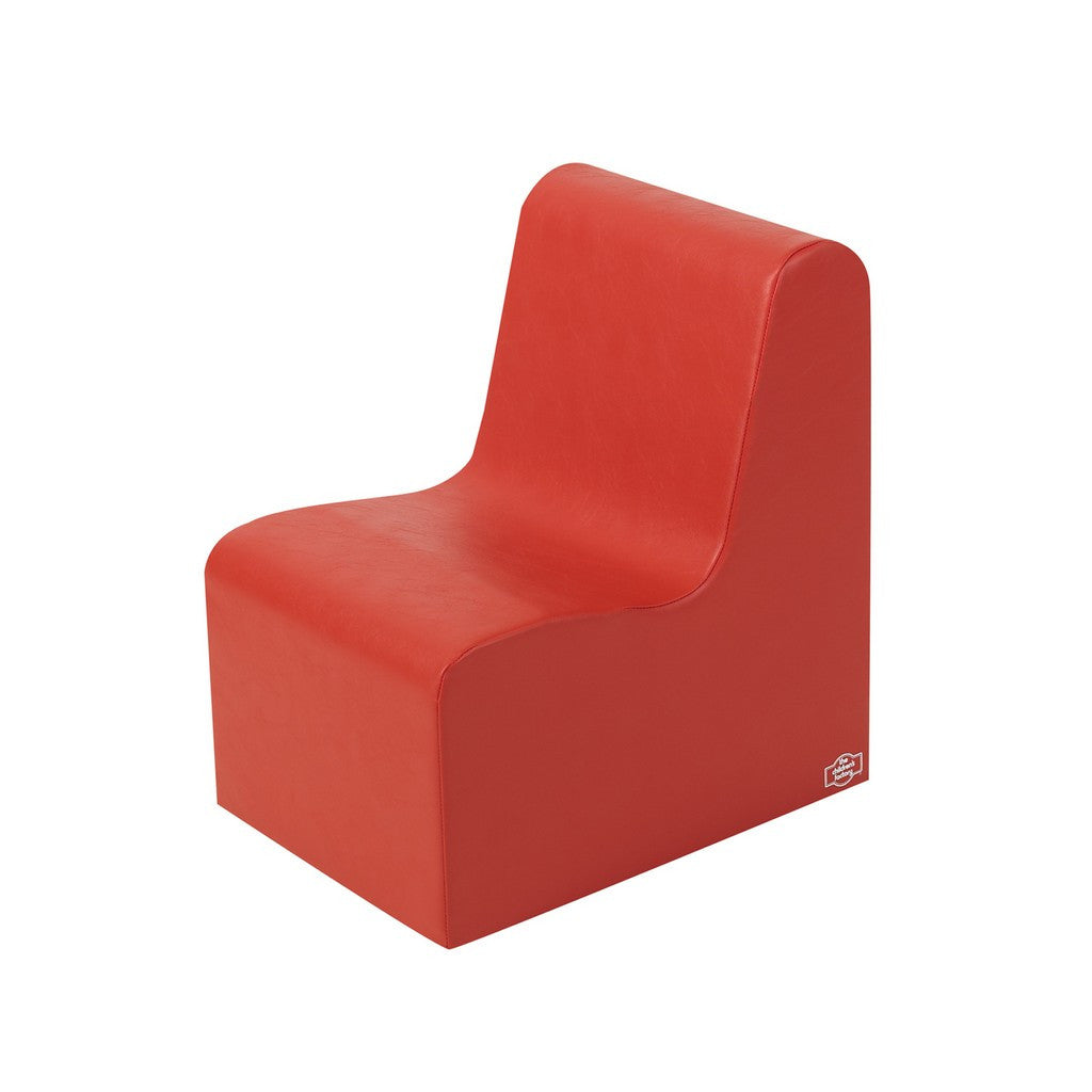 Children's Factory School Age Contour Chair - Red