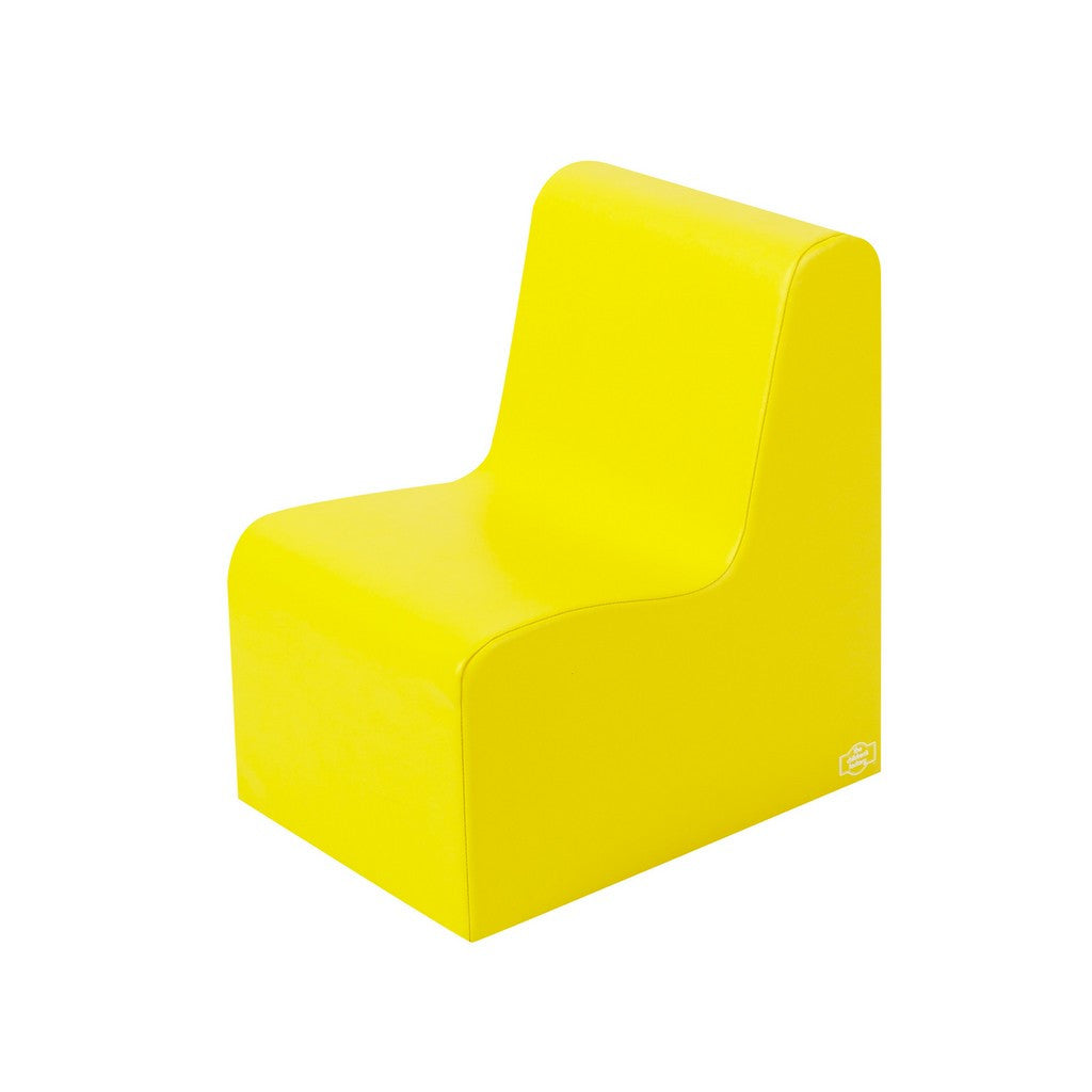 Children's Factory School Age Contour Chair - Yellow