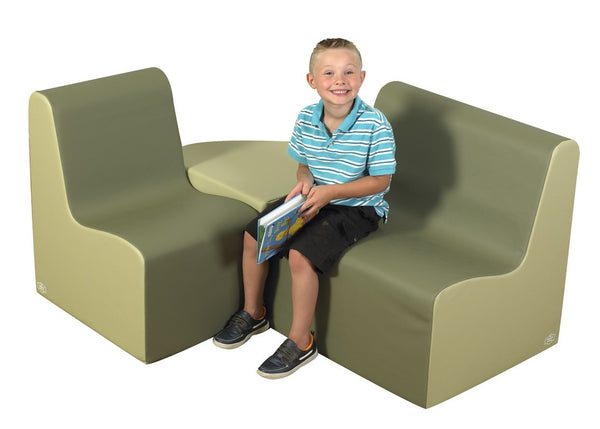 Bigger Age Contour Seating - Sage 3 Piece