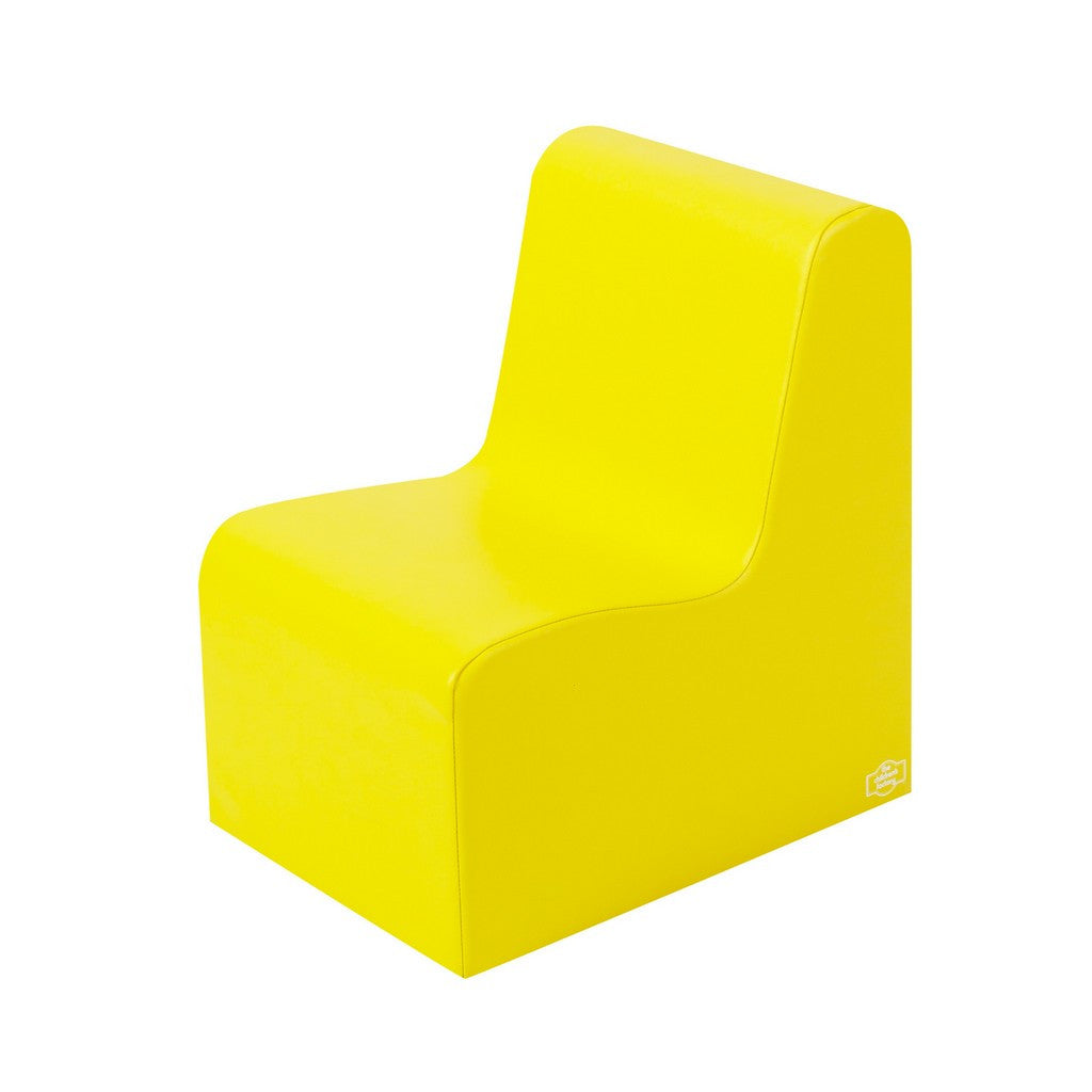 Children's Factory Bigger Age Contour Chair - Yellow CF705-547