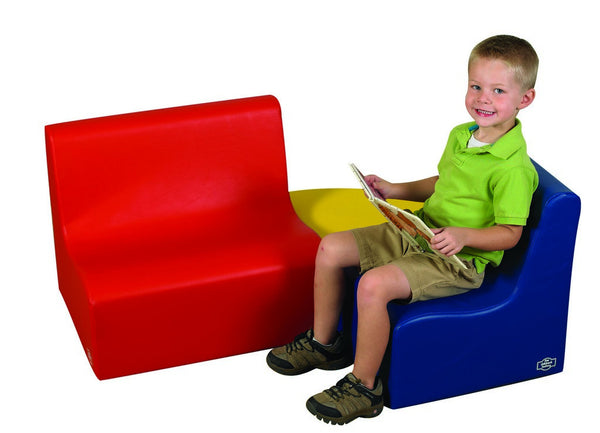 Children's Factory Medium Tot Contour Seating - Primary 3 Piece