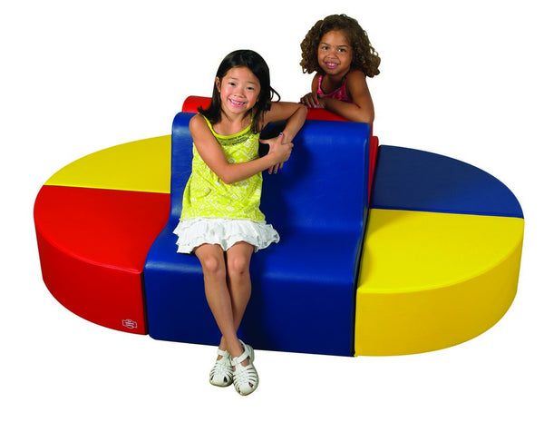 Children's Factory School Age Contour Seating - Primary 6 Piece