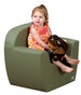 Children's Factory Club Chair - Sage CF705-583