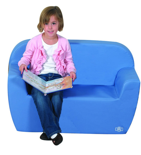 Club Sofa - Sky Blue