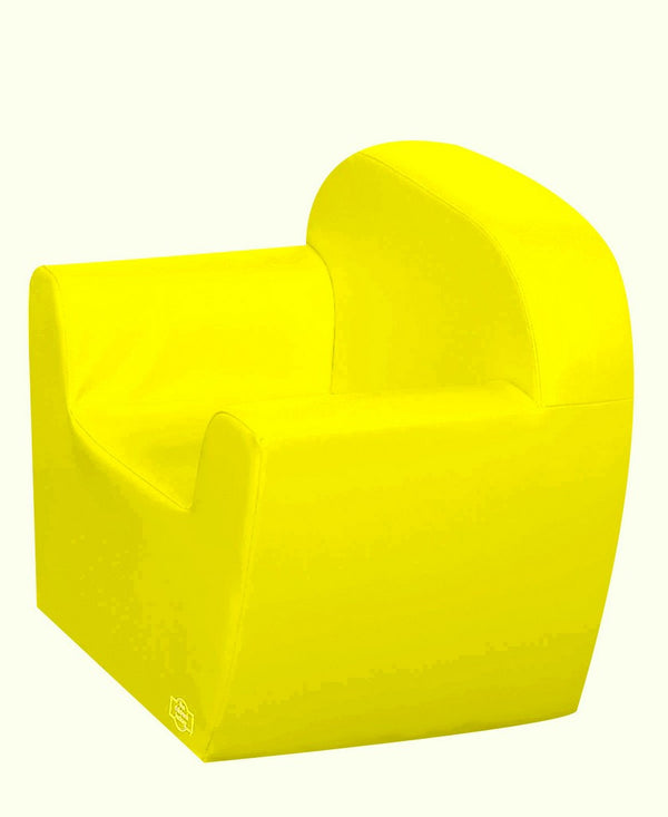 Club Chair - Yellow