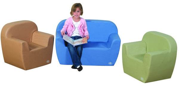 Club Seating - Light Woodland 3 Piece
