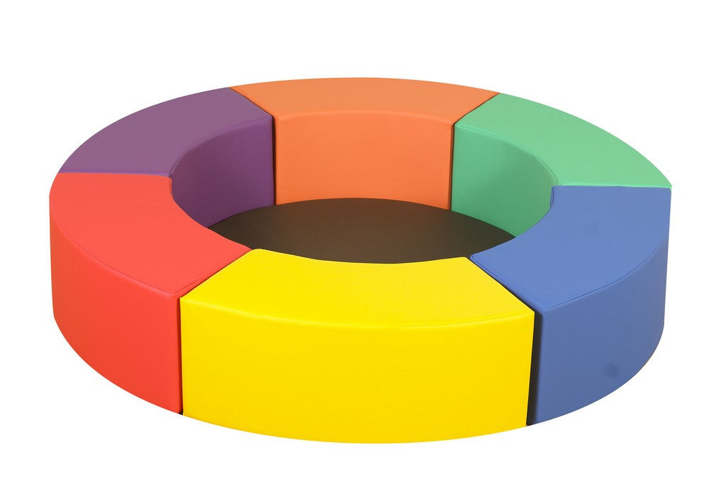 Children's Factory Rainbow Circle Seats