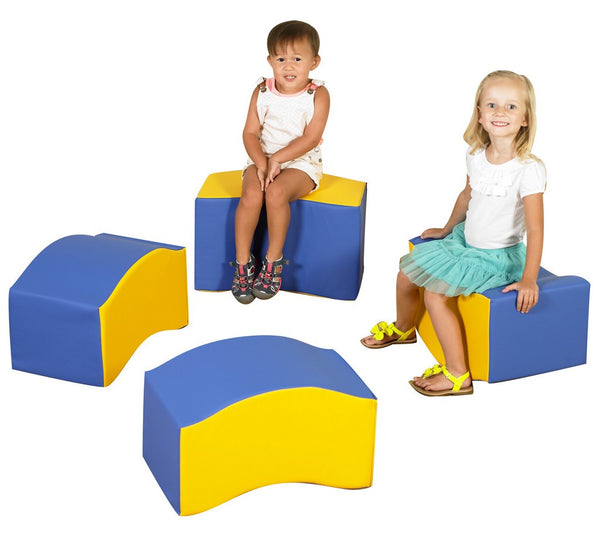 Children's Factory Wave Seats