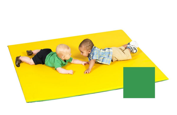 Children's Factory Reversible Color Mat - Yellow/Green