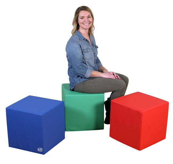 "Children's Factory 16"" Teacher's Cubes in Polyurethane"