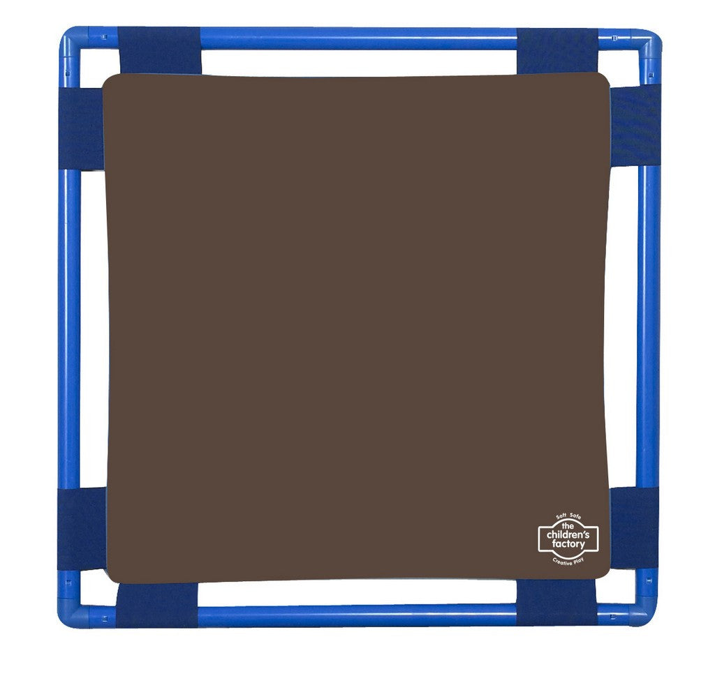 Children's Factory Square Playpanel - Walnut