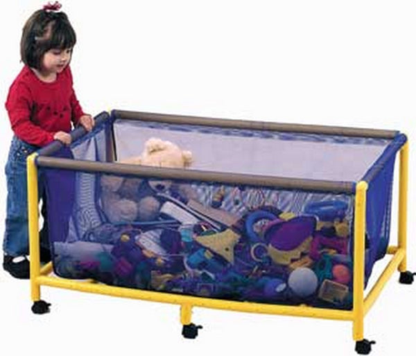 Children's Factory Mobile Equipment Toy Box - Rectangle