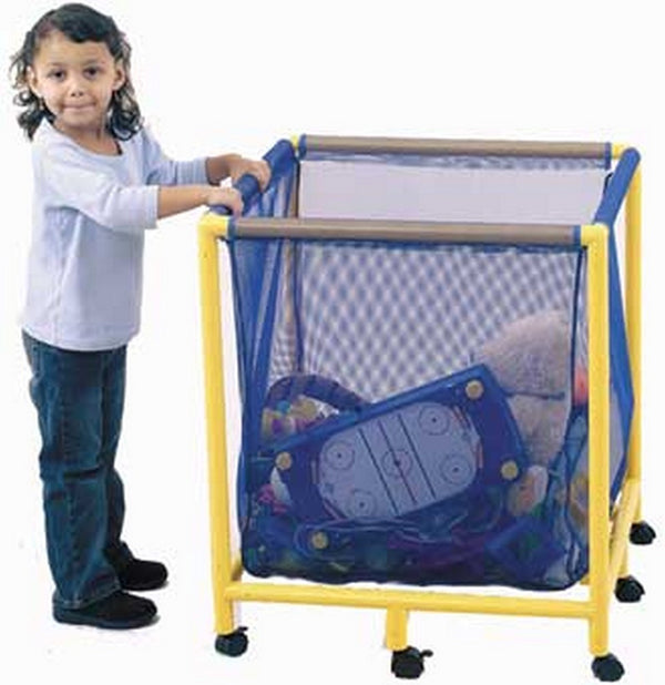 Children's Factory Mobile Equipment Toy Box - Square