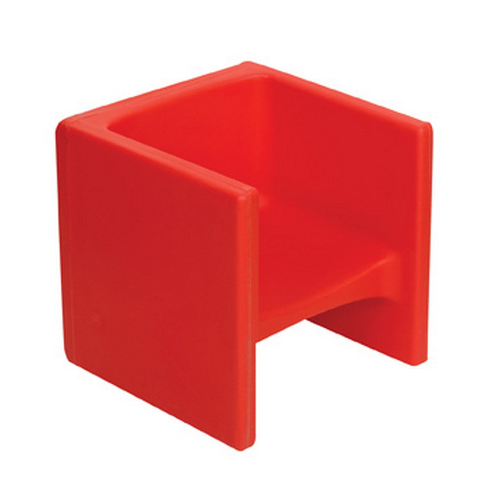 Children's Factory Chair Cube -  Red
