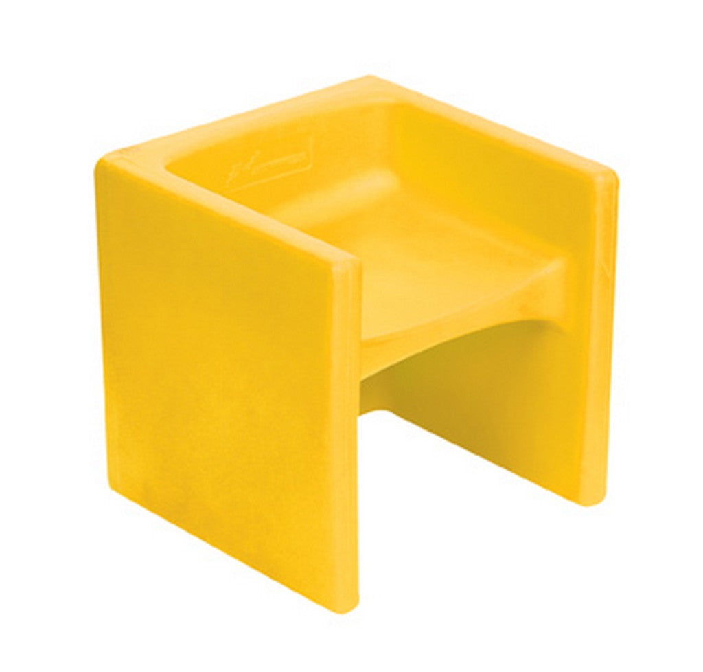 Children's Factory Chair Cube - Yellow