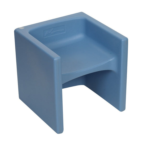 Children's Factory Chair Cube - Sky Blue