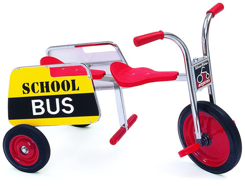 Angeles SilverRider School Bus Tricycle