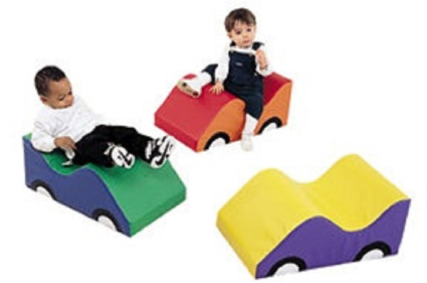 Children's Factory Wide Infant Toddler Soft Cars