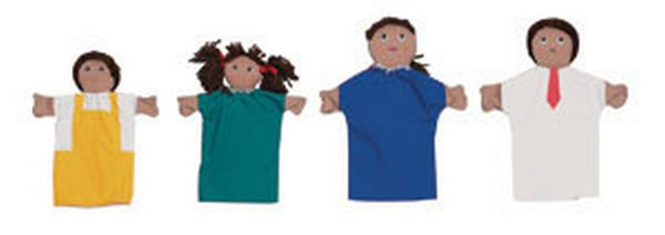 Children's Factory Hispanic Hand Puppet Family