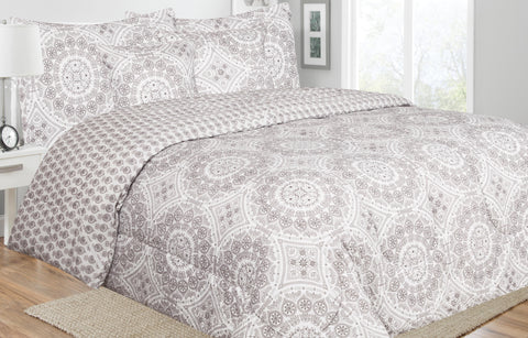 5 Piece Reversible Comforter set