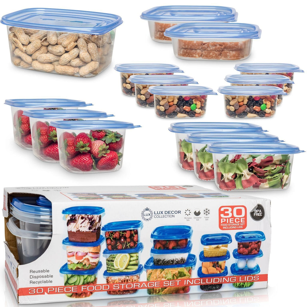 30 Pcs Food Containers