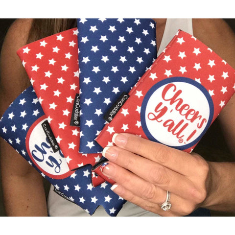 Patriotic Party Pack - Cheers Y'all® Can Cuddler®