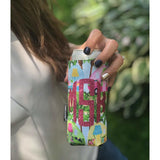 Monogram Camper Can Cuddler® - Select your size, standard can, slim can or 16-20 oz bottle