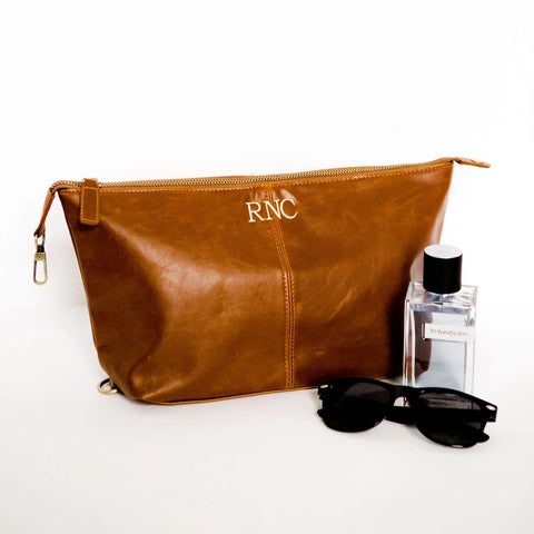 Jake Vegan Leather Dopp Kit
