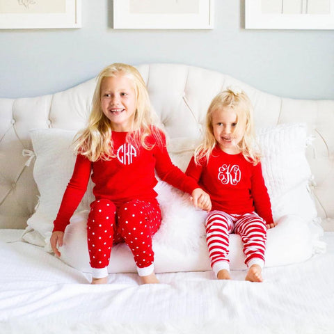 Infant Patterned Christmas PJ Sets