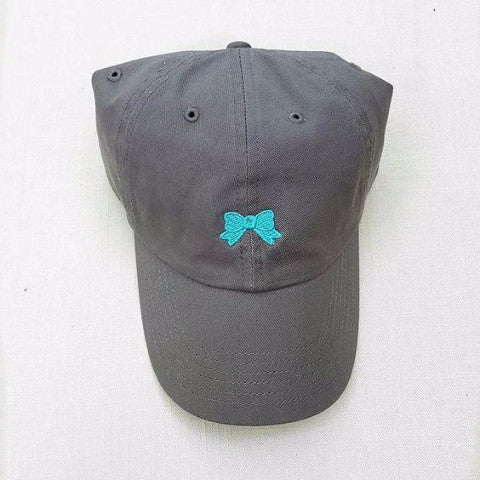 Bow Baseball Cap | Add-On Back Monogram