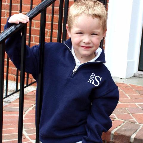 Boys Quarter-Zip Pullover