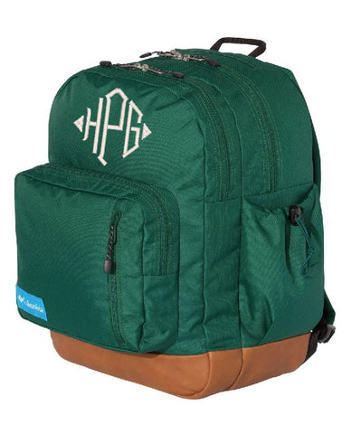 Columbia Monogrammed Backpack