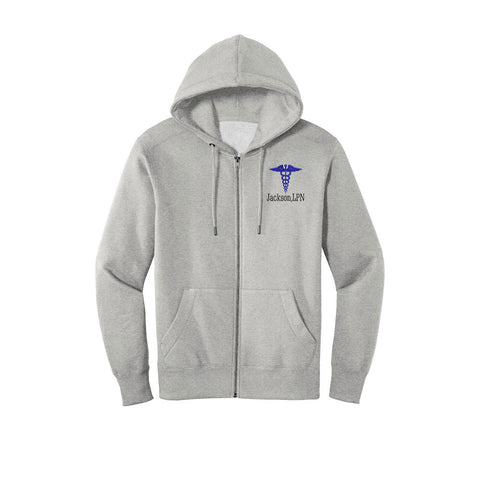 Men's Hooded Medical Full Zip