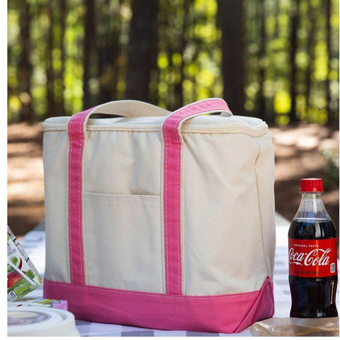 Pink Cooler Tote