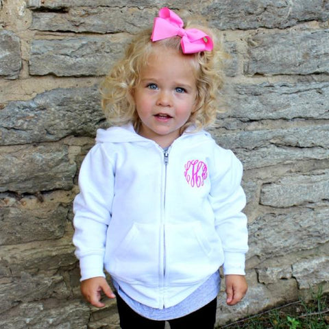 Toddler Full Zip Sweatshirt