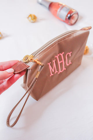 Nylon Makeup Case / Wristlet