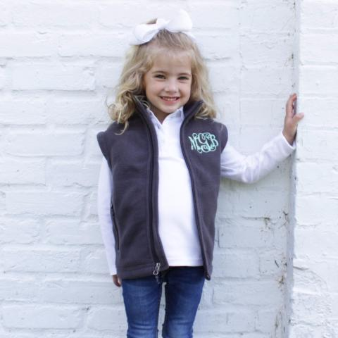 Girls Fleece Vest