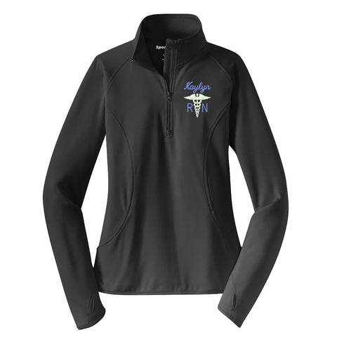 Nurse Athletic Dri-Fit Quarter Zip