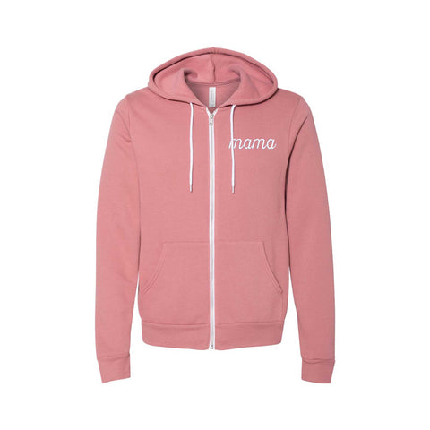 Mama Full Zippered Sweatshirt