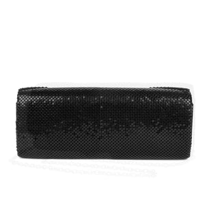 Jessica McClintock Hailey Bow Clutch - Black - Back