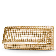 Katrina East / West Large Mesh Clutch