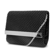 Katie Ball Mesh Flap Evening Bag