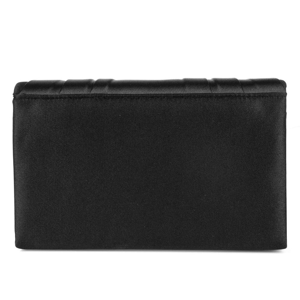 Jessica McClintock Harper Clutch- Black - Back