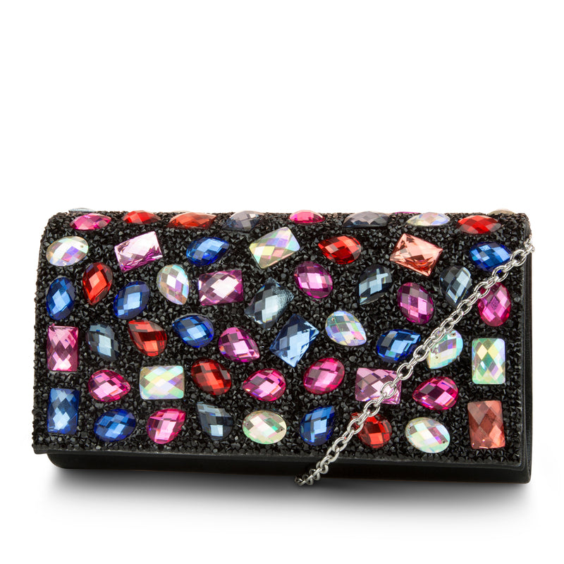 Chloe Jeweled Clutch (Multi)