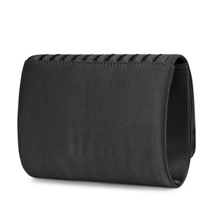 Katie Pleated Flap Evening Clutch