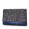 Nora Sparkle and Shine Clutch (Navy)