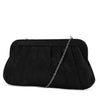 Rita Pleated Frame Clutch