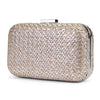 Molly Metallic Minaudiere